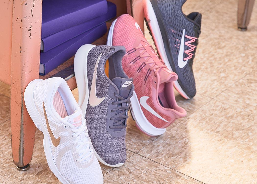 assorted women's nike sneakers