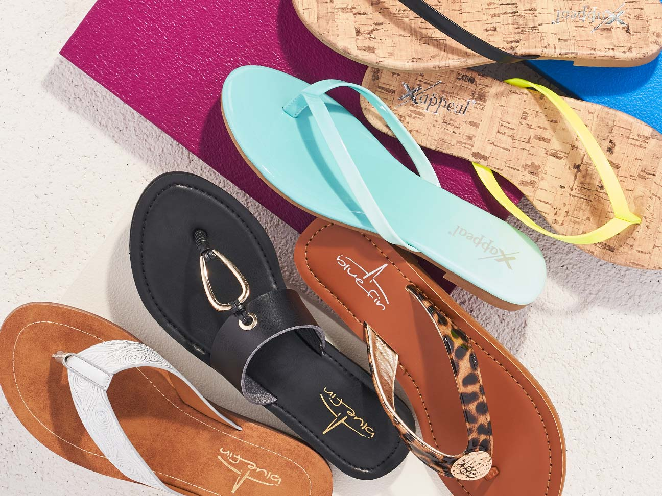 7bcf38092c WOMEN'S SANDALS STARTING AT $9.99. Time for a total sandal ...