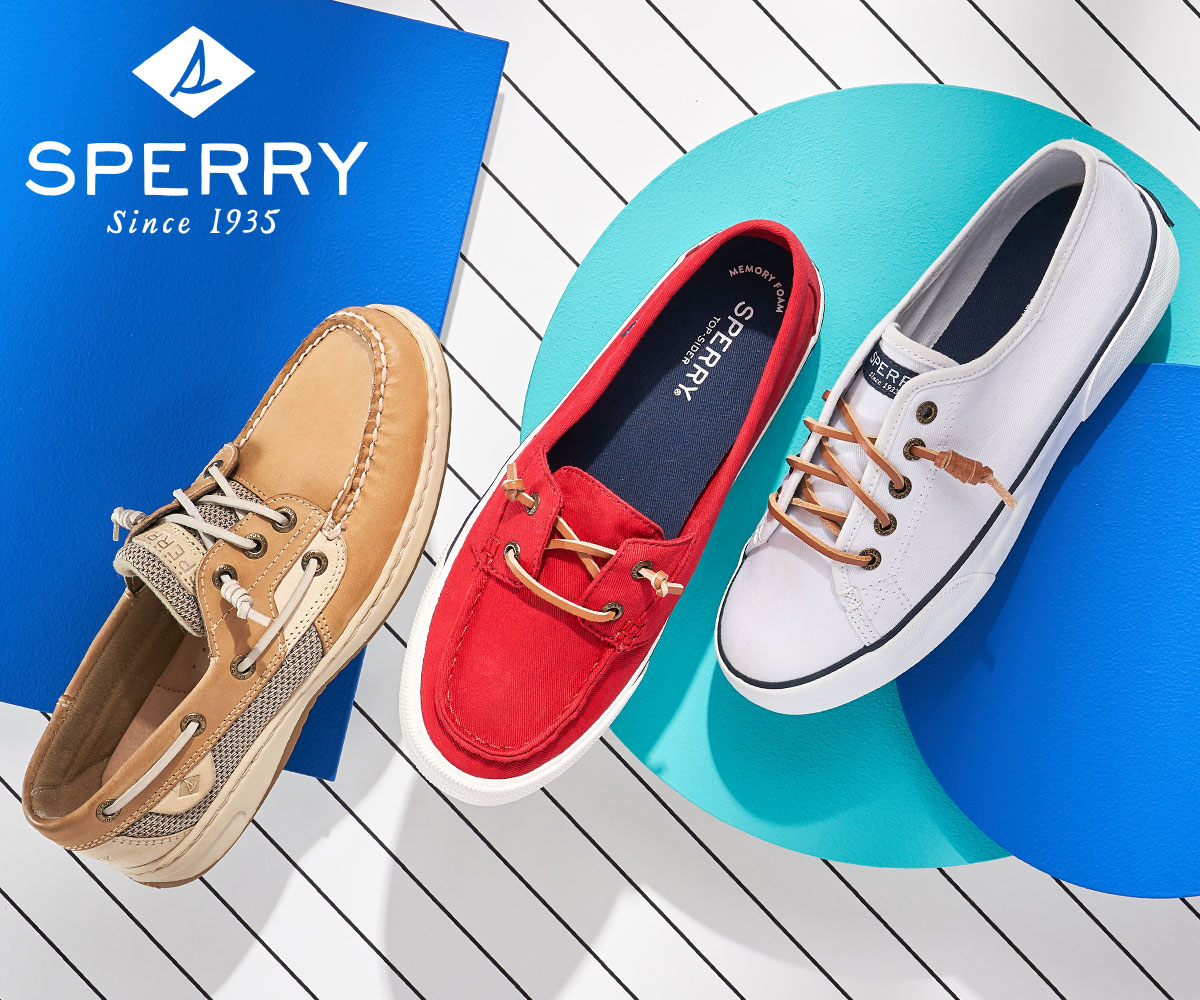 assorted women's sperry boat shoes