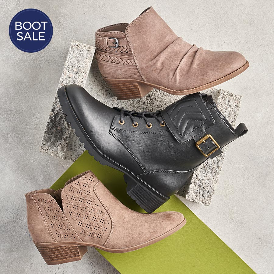 assorted stylish womens boots