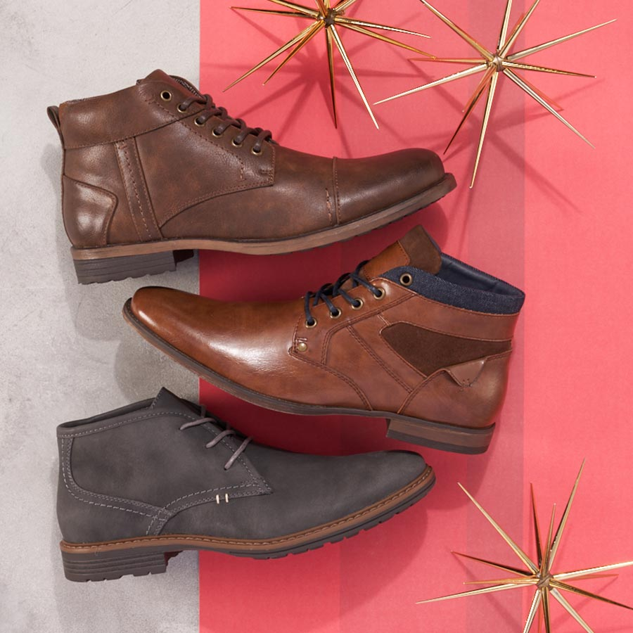 assorted mens chukka boots