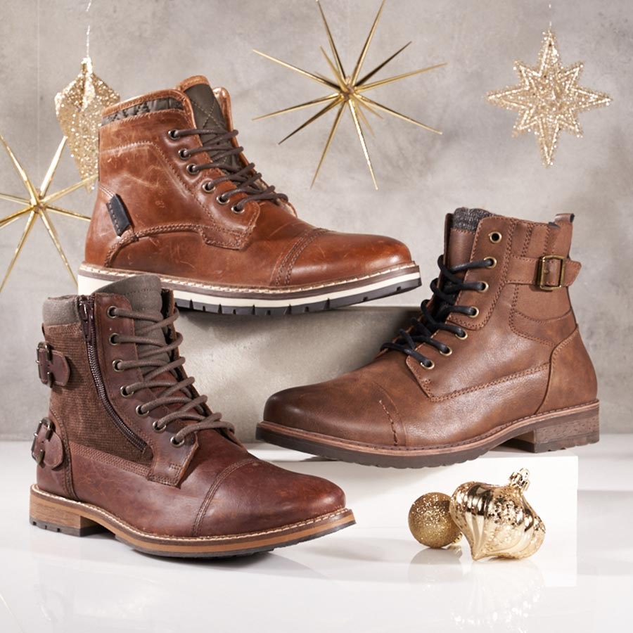 assorted mens boots