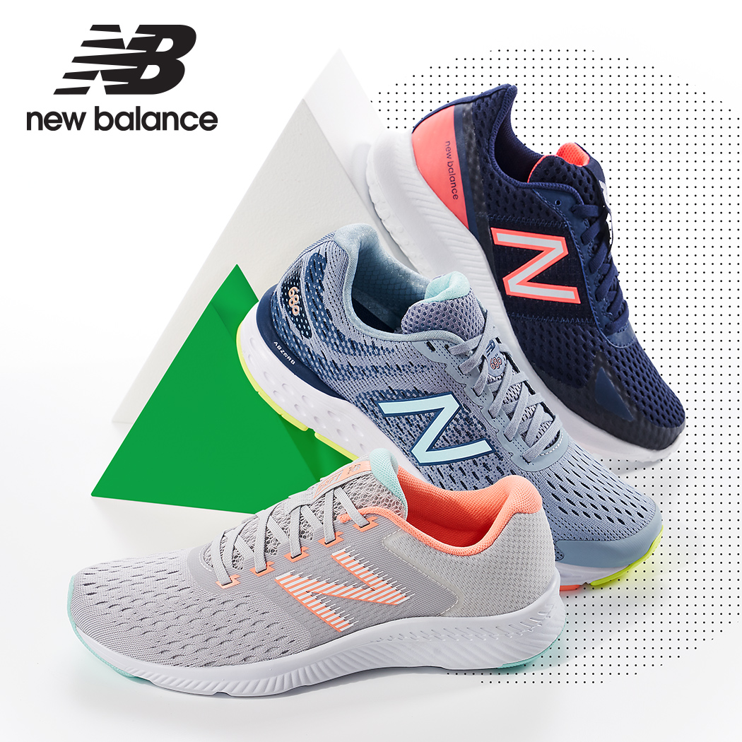 assorted colorful new balance sneakers