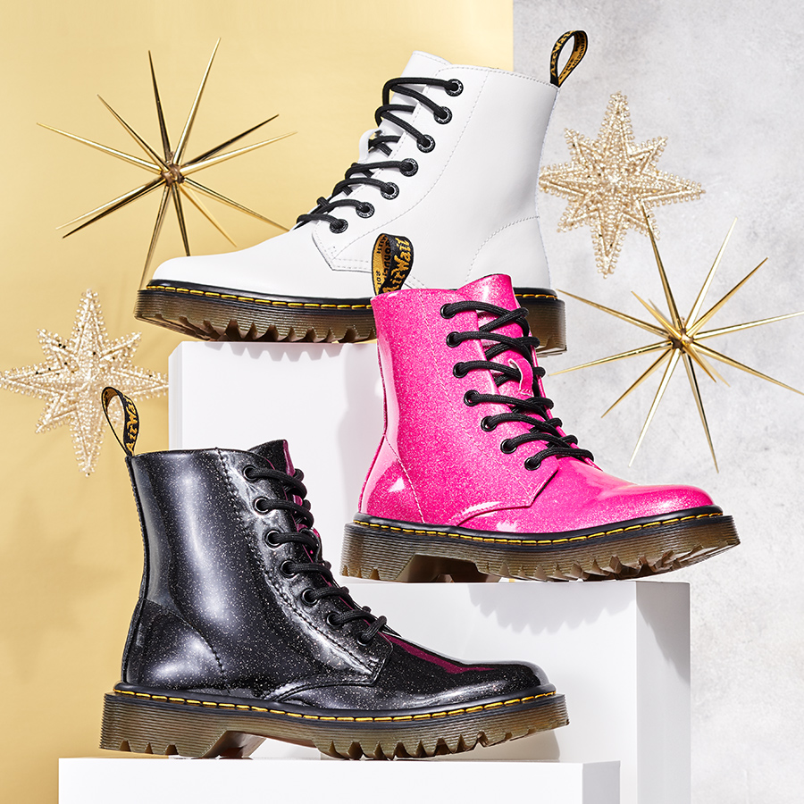 A fun way to express yourself, featuring Dr. Martens.