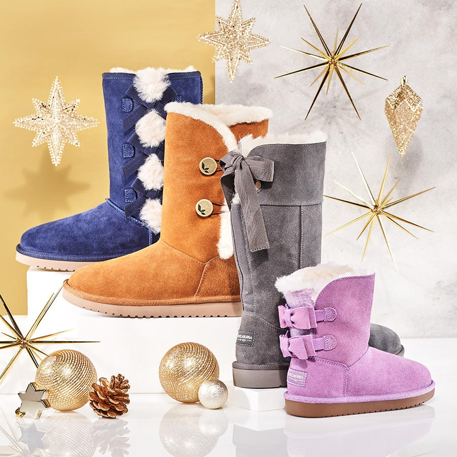 Warm and cozy boots, featuring Koolaburra by UGG.