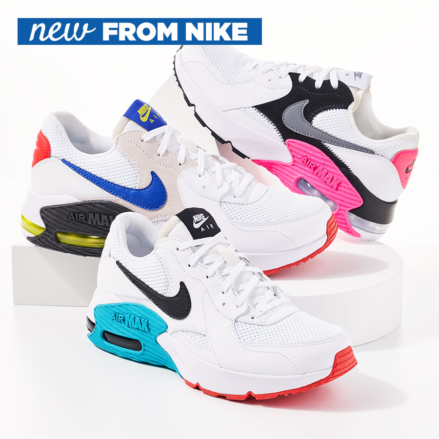 assorted nike air max sneakers