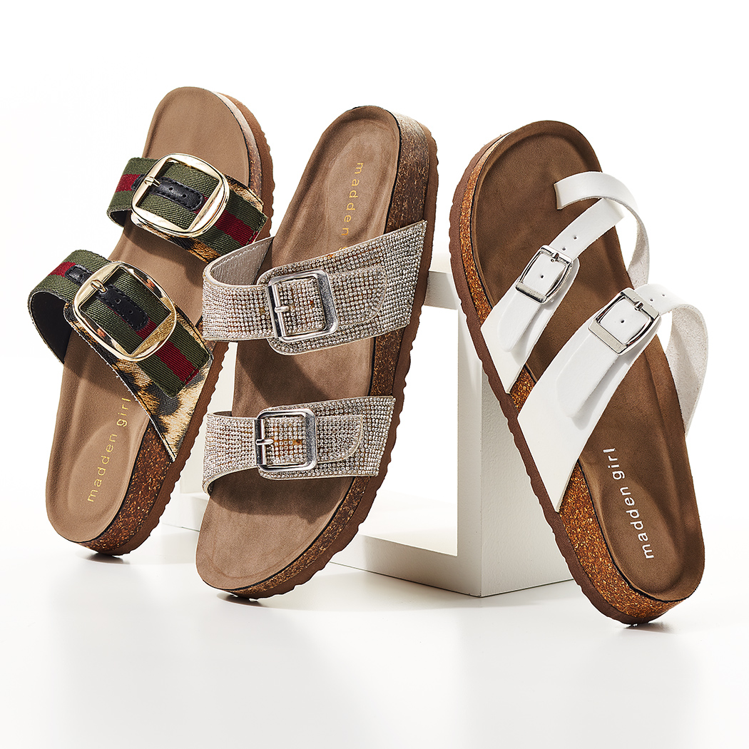 cool madden girl footbed sandals