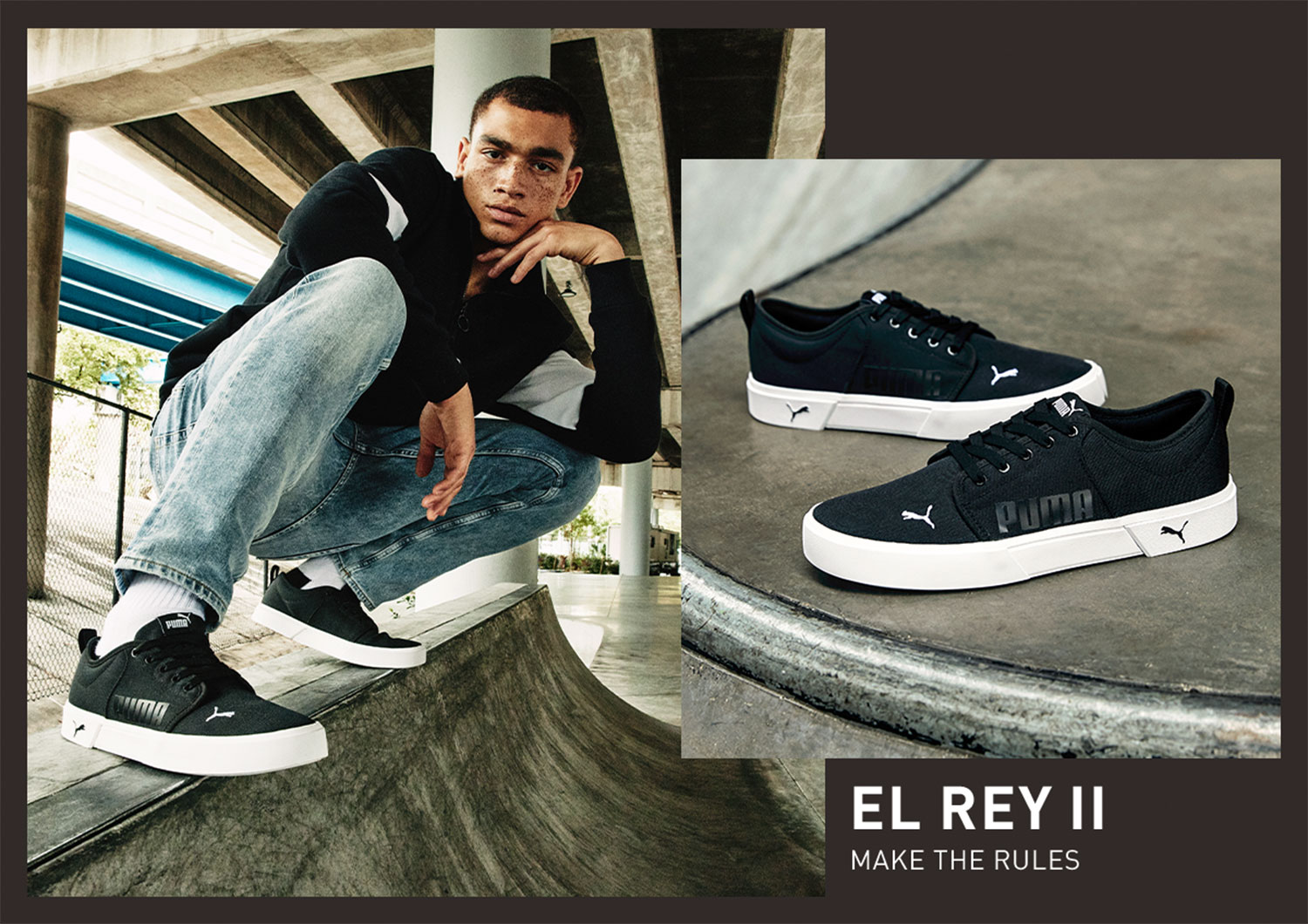 Be bold in El Rey II.