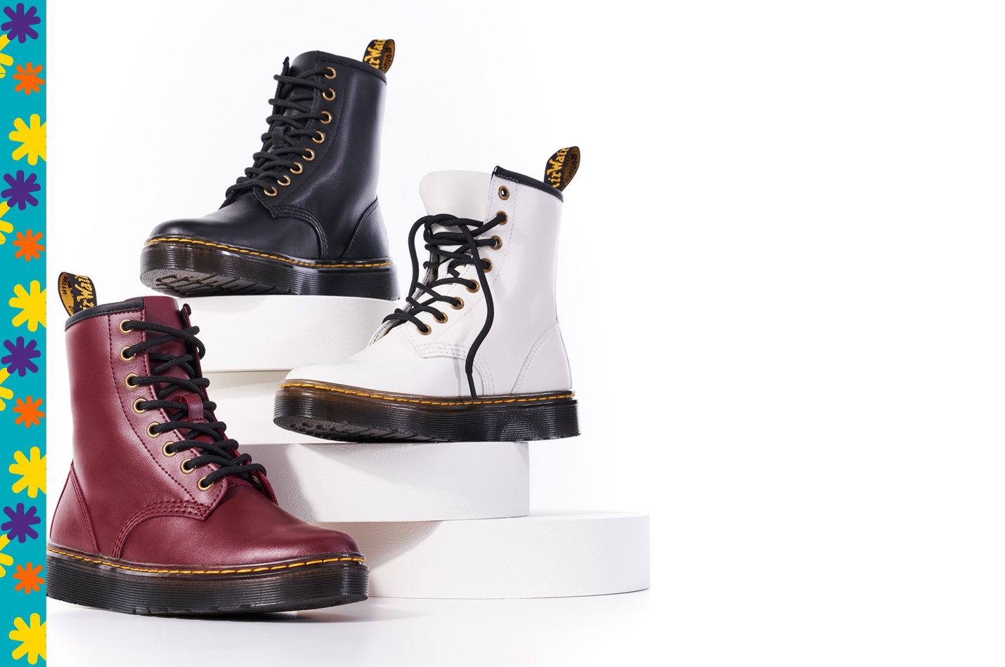 assorted Dr Matens boots