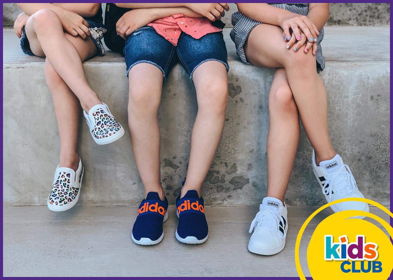 kids club kids in fun cool sandals