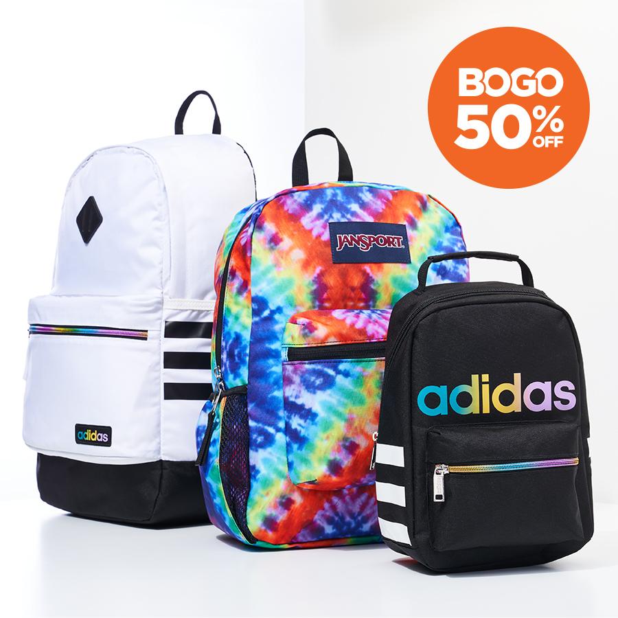 sylish adidas and jansport backpacks