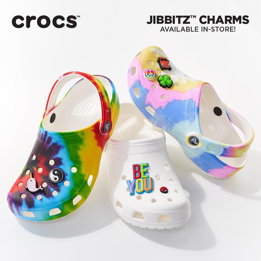 Crocs and Jibbitz™ show your unique style.