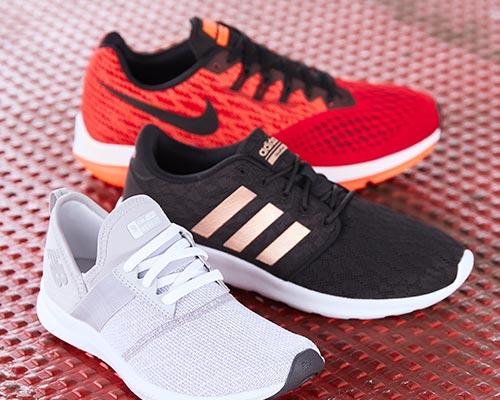Running Shoes Nike Adidas